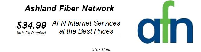 AFN Best Prices for Internet Services