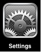 iPhone iPad Settings
