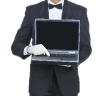 Butler-with-Laptop-Computer